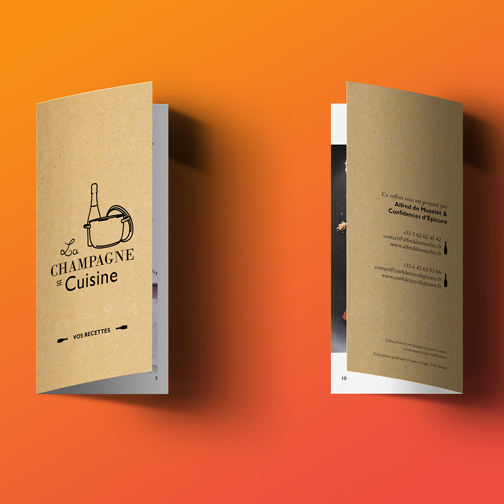 Brochure-la champagne se cuisine-Design-packaging-Reims-Marne