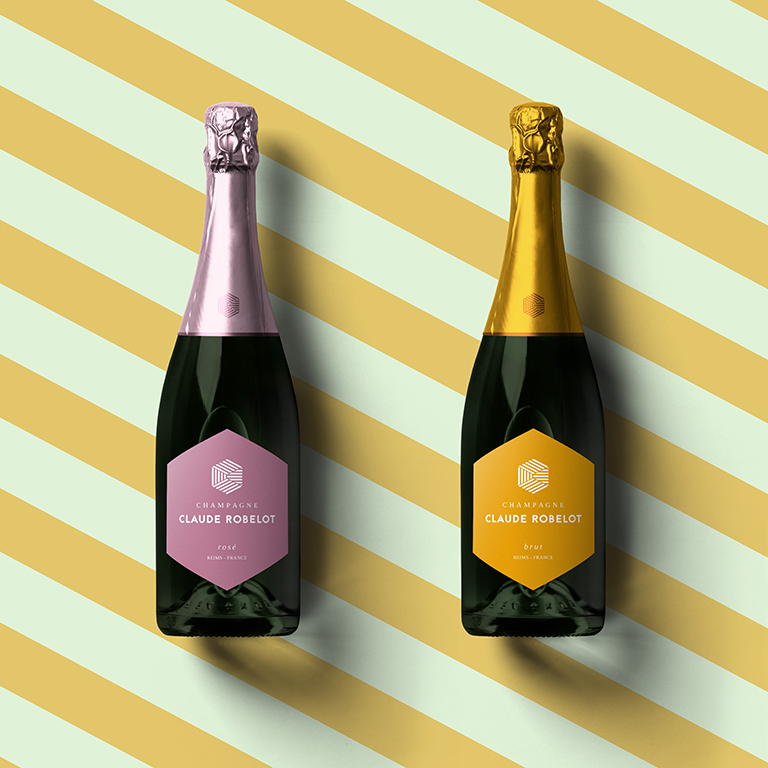 Bouteille-Champagne Claude ROBELOT-Packaging-Reims